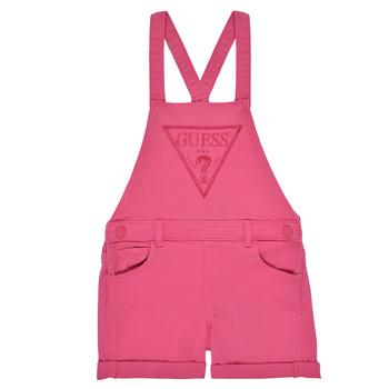 衣服 女孩 连体衣/连体裤 Guess K1GK10-WB5Z0-JLPK 玫瑰色