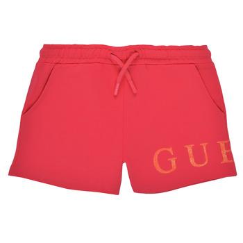 衣服 女孩 短裤&百慕大短裤 Guess K1GD08-KAN00-C448 玫瑰色