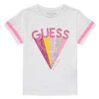 衣服 女孩 短袖体恤 Guess K1RI04-K6YW1-TWHT 白色