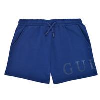 衣服 女孩 短裤&百慕大短裤 Guess J1GD00-KAN00-PSBL 海蓝色