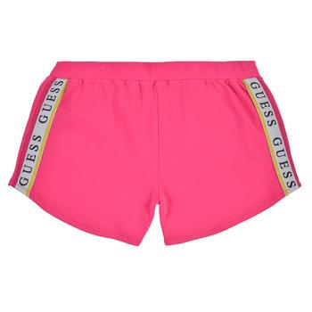 衣服 女孩 短裤&百慕大短裤 Guess J1GD12-KAE20-JLPK 玫瑰色