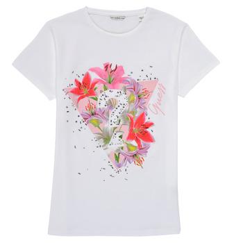 衣服 女孩 短袖体恤 Guess J1RI24-K6YW1-TWHT 白色