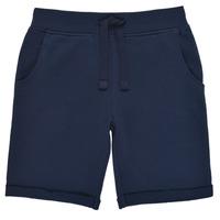 衣服 男孩 短裤&百慕大短裤 Guess N93Q18-K5WK0-C765 海蓝色