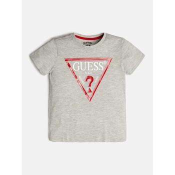衣服 男孩 短袖体恤 Guess L73I55-K5M20-M90 灰色