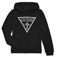 衣服 女孩 卫衣 Guess J83Q14-K5WK0-A996 黑色
