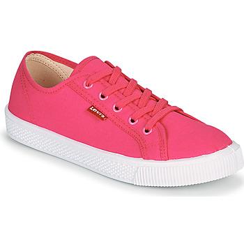鞋子 女士 球鞋基本款 Levi's 李维斯 MALIBU BEACH S 玫瑰色