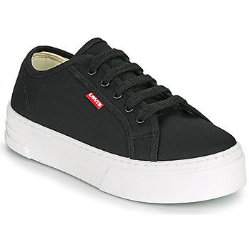 鞋子 女士 球鞋基本款 Levi's 李维斯 TIJUANA 黑色