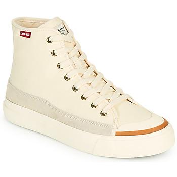 鞋子 女士 高帮鞋 Levi's 李维斯 SQUARE HIGH S 白色