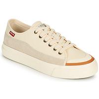 鞋子 女士 球鞋基本款 Levi's 李维斯 SQUARE LOW S 白色