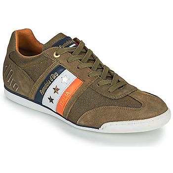 鞋子 男士 球鞋基本款 Pantofola d'oro IMOLA CANVAS UOMO LOW 卡其色