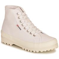 鞋子 女士 高帮鞋 Superga 2341 ALPINA COTU 白色