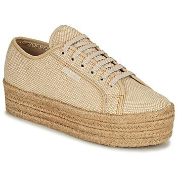 鞋子 女士 球鞋基本款 Superga 2790 JUTECOTROPEW 米色