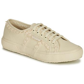 鞋子 女士 球鞋基本款 Superga 2750 COTW LACEPIPING 米色