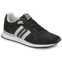 鞋子 男士 球鞋基本款 Jack & Jones 杰克琼斯 JFW STELLAR MESH 2.0 黑色 / 白色
