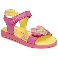 鞋子 女孩 凉鞋 Agatha Ruiz de la Prada 阿嘉莎·鲁兹·德 AITANA 玫瑰色