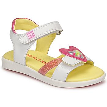 鞋子 女孩 凉鞋 Agatha Ruiz de la Prada 阿嘉莎·鲁兹·德 AITANA 白色