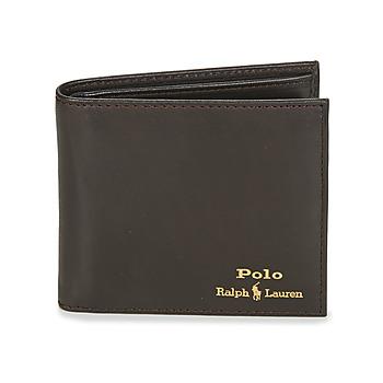 包 男士 钱包 Polo Ralph Lauren GLD FL BFC-WALLET-SMOOTH LEATHER 黑色