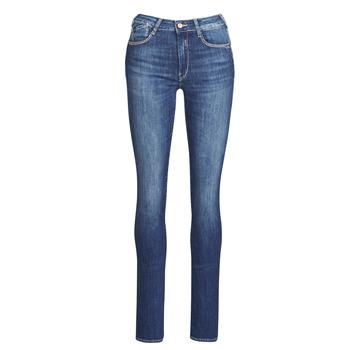 衣服 女士 直筒牛仔裤 Le Temps des Cerises PULP HIGHREG 蓝色 / 米色