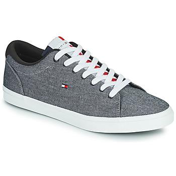 鞋子 男士 球鞋基本款 Tommy Hilfiger ESSENTIAL CHAMBRAY VULCANIZED 灰色