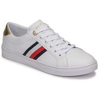 鞋子 女士 球鞋基本款 Tommy Hilfiger TH CORPORATE CUPSOLE SNEAKER 白色