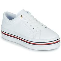 鞋子 女士 球鞋基本款 Tommy Hilfiger CORPORATE FLATFORM CUPSOLE 白色