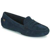鞋子 女士 皮便鞋 Tommy Hilfiger TOMMY ESSENTIAL MOCCASIN 海蓝色
