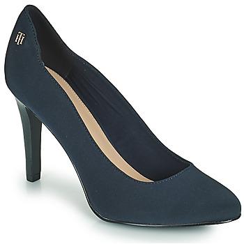 鞋子 女士 高跟鞋 Tommy Hilfiger TOMMY ESSENTIAL HIGH HEEL PUMP 海蓝色