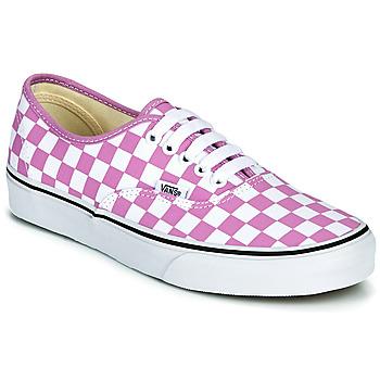 鞋子 女士 球鞋基本款 Vans 范斯 AUTHENTIC 淡紫色