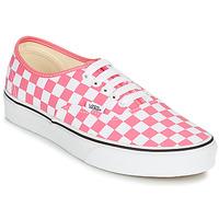 鞋子 女士 球鞋基本款 Vans 范斯 AUTHENTIC 玫瑰色