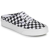 鞋子 休闲凉拖/沙滩鞋 Vans 范斯 AUTHENTIC MULE 黑色 / 白色
