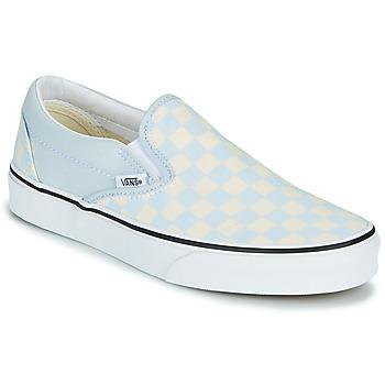 鞋子 平底鞋 Vans 范斯 CLASSIC SLIP ON 蓝色