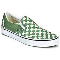 鞋子 男士 平底鞋 Vans 范斯 CLASSIC SLIP ON 绿色