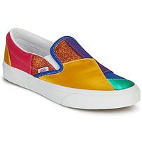 鞋子 平底鞋 Vans 范斯 CLASSIC SLIP ON Pride / 多彩