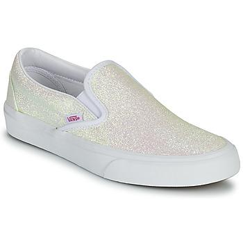 鞋子 女士 平底鞋 Vans 范斯 CLASSIC SLIP ON 金色 / 米色 / 玫瑰色