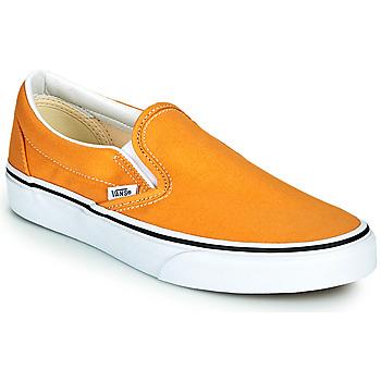 鞋子 女士 平底鞋 Vans 范斯 CLASSIC SLIP ON 黄色