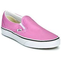 鞋子 女士 平底鞋 Vans 范斯 CLASSIC SLIP ON 淡紫色
