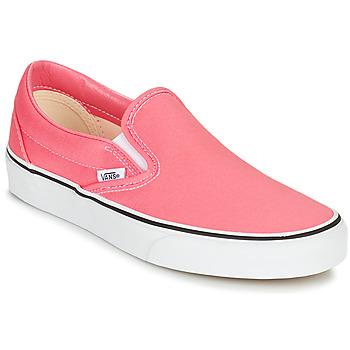 鞋子 女士 平底鞋 Vans 范斯 CLASSIC SLIP ON 玫瑰色