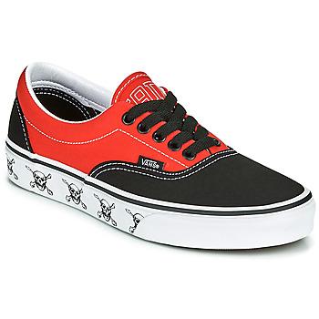 鞋子 球鞋基本款 Vans 范斯 ERA 黑色 / 红色