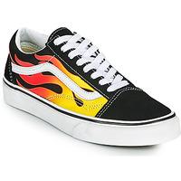 鞋子 球鞋基本款 Vans 范斯 OLD SKOOL 黑色 / 橙色