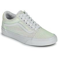 鞋子 女士 球鞋基本款 Vans 范斯 OLD SKOOL 白色