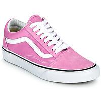 鞋子 女士 球鞋基本款 Vans 范斯 OLD SKOOL 淡紫色