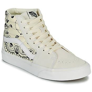 鞋子 高帮鞋 Vans 范斯 SK8 HI 米色 / 黑色