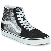 鞋子 女士 高帮鞋 Vans 范斯 SK8 HI 黑色 / 白色
