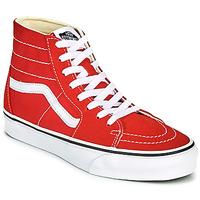 鞋子 高帮鞋 Vans 范斯 SK8 HI TAPERED 红色