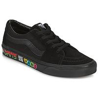 鞋子 高帮鞋 Vans 范斯 SK8 LOW 黑色
