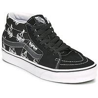 鞋子 高帮鞋 Vans 范斯 SK8 MID 黑色 / 白色