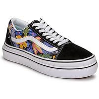 鞋子 女士 球鞋基本款 Vans 范斯 SUPER COMFYCUSH OLD SKOOL 黑色 / 花