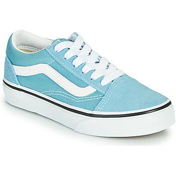 鞋子 男孩 球鞋基本款 Vans 范斯 OLD SKOOL 蓝色