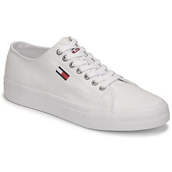 鞋子 男士 球鞋基本款 Tommy Jeans LONG LACE UP VULC 白色