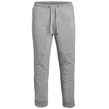 衣服 男孩 厚裤子 Jack & Jones 杰克琼斯 JJIGORDON JJSHARK SWEAT PANT 灰色